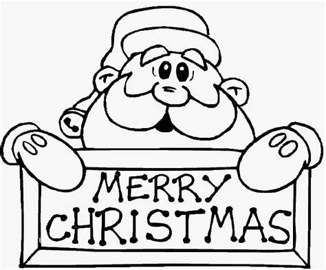 Imagenes De Merry Christmas En Blanco Y Negro | merry christmas papa noel dibujalia dibujos para