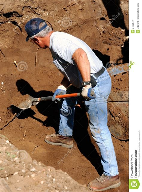 Digging On by Digging Stock Image Image Of Middle Baby Boomer