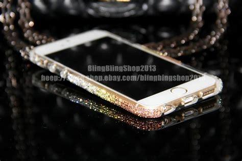 Casing Iphone 6 6 Plus Black Cover Bumper Backcase 3 bling swarovski element bumper cover