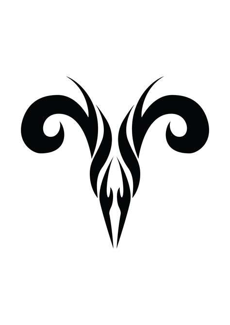 Aries Tattoos Designs Ideas And Meaning Tattoos For You Aries Symbol Designs