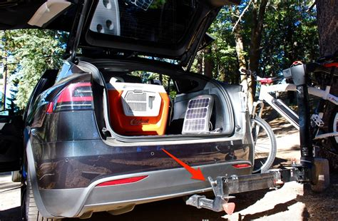 Tesla Bike Rack Installing A Tesla Model X Bike Rack Once You Go