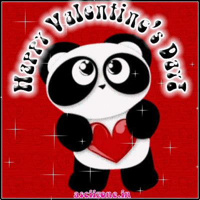 valentines day panda happy valentines day posts of student made gifs stuff