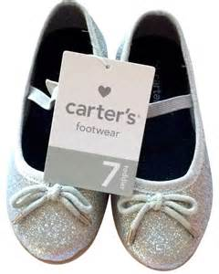 New Arrival Louis Vuitton Flat 793 A215 An carters silver flats toddler silver glittery shoes size 7 size 7 42 tradesy