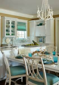 house kitchen with turquoise decor home bunch