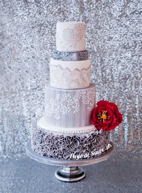 Hochzeitstorte Grau Rosa by Hochzeitstorten Individuell Ausgefallen Exklusiv