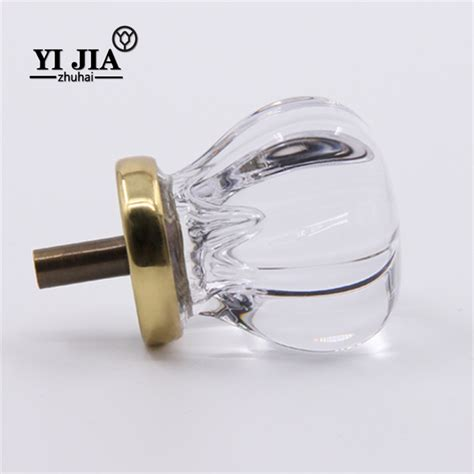 decorative glass cabinet knobs and pulls yijia
