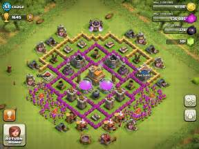 Home Design How To Get Free Gems by Top 10 Clash Of Clans Town Hall Level 7 Defense Base Design
