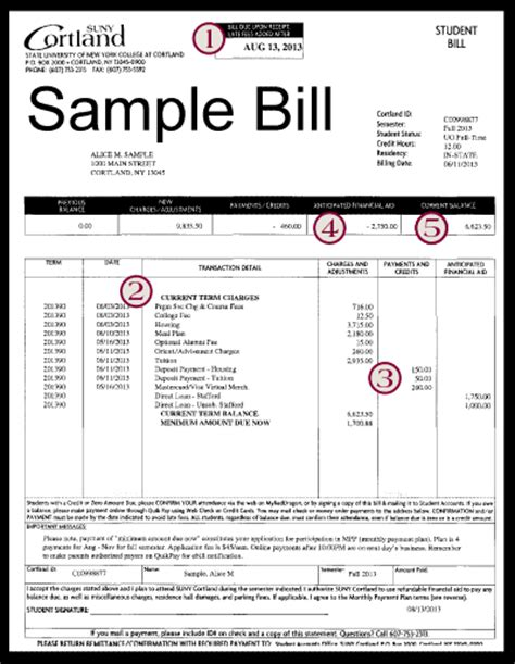tuition bill template pacq co
