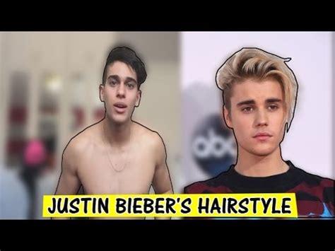 Justin Bieber Hairstyle 2015 Tutorial by Tutorial Justin Bieber S Haircut Hairstyle 2016