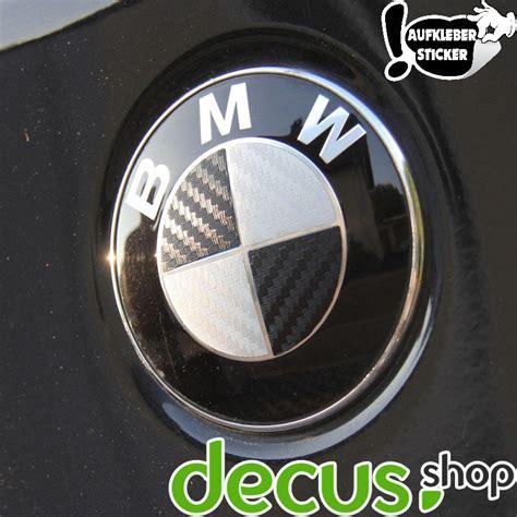 Bmw Emblem Carbon Aufkleber by Emblem Ecken Aufkleber Sticker In Carbon Passend F 252 R Alle