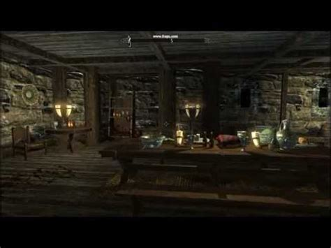 windhelm house hjerim house inside windhelm skyrim 01 youtube