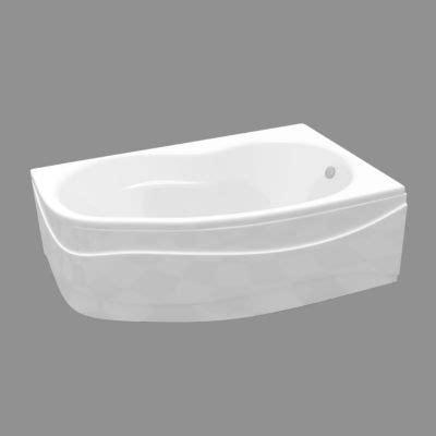 baignoire d angle asymetrique baignoire asym 233 trique angle droit 160 x 102 cm castorama