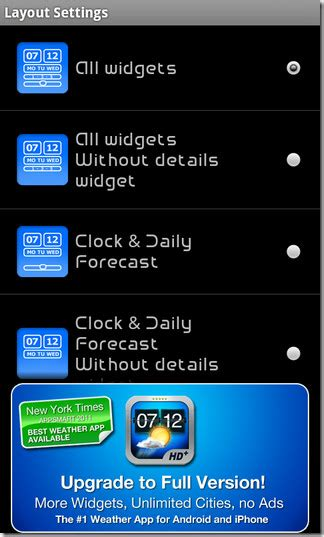 android layout opacity weather brings its weather forecast flip clock widgets