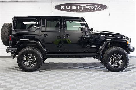 Black Jeep Wrangler Pre Owned 2012 Jeep Wrangler Rubicon Unlimited Black