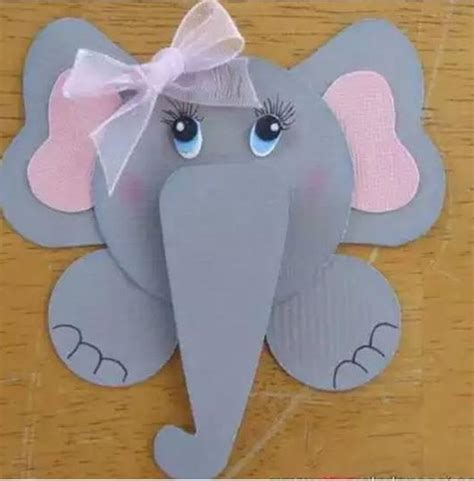 Elephant Paper Craft - elephant craft 1 171 preschool and homeschool