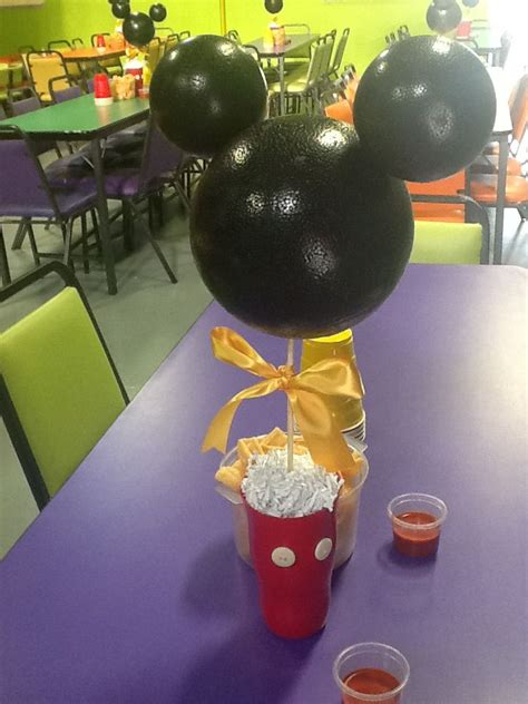Mickey Mouse Table Decorations by Mickey Mouse Center Table Decoration Tarzo 2nd
