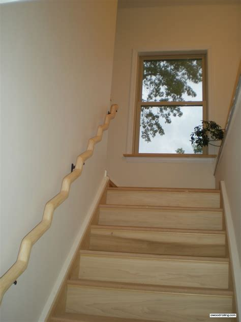 wood banister mountain laurel railing part 18