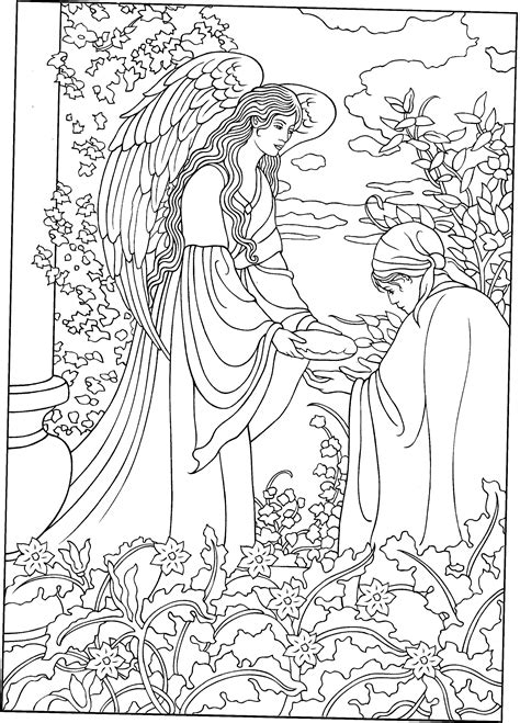 coloring page angels angel colouring page adult colouring fairies angels