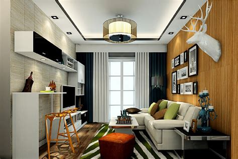3d interior living room with small bar counter 3d house bar counter in the living room 3d house free 3d house
