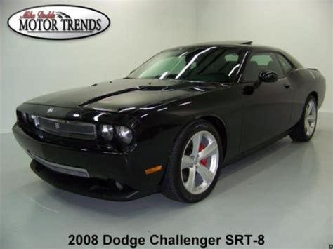 purchase used 2008 dodge challenger srt8 navigation sunroof stripes auto brembo kicker 31k in