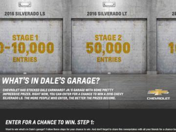 Chevy Silverado Giveaway - nascar chions week sweepstakes chevrolet autos post