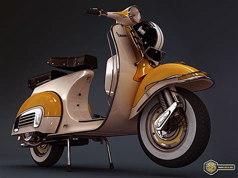 Vespa Modifikasi Retro by Scooter Vespa
