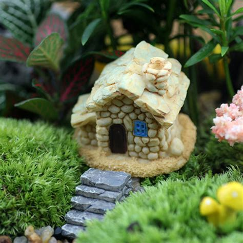 Resin Garden Decor 2pcs Resin Miniature Stairs Step Dollhouse