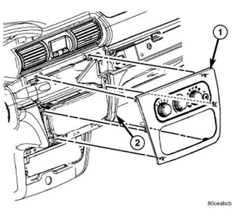 dodge stratus instrument panel dodge van instrument panel wiring diagram odicis