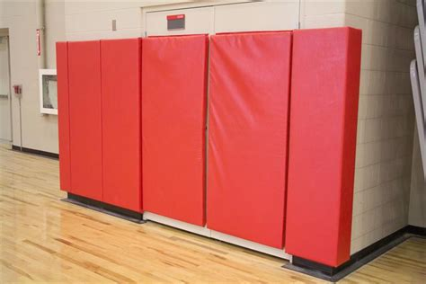 bedroom wall padding gym floor covers wall padding netting bleachers from ssci