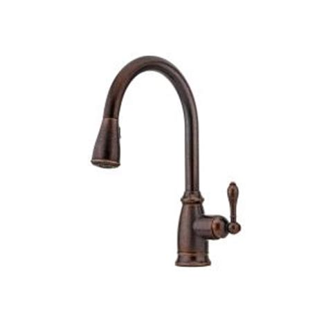rustic kitchen faucets pull down faucet leon best pfister canton single handle pull down sprayer kitchen