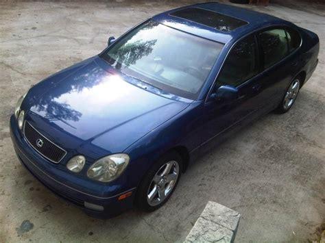 lexus gs300 blue lexus gs