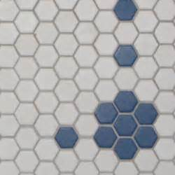 1 inch hexagon mosaic tile tile for less