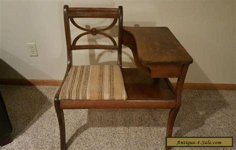 antique gossip bench phone table antique wooden gossip bench phone table vintage desk