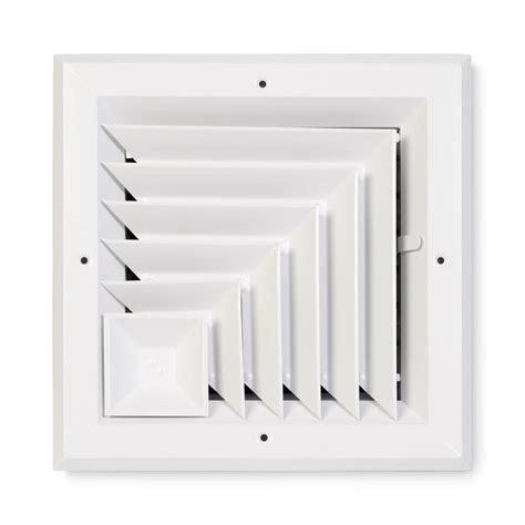 12 ceiling diffuser shop accord ventilation 485 series white aluminum ceiling