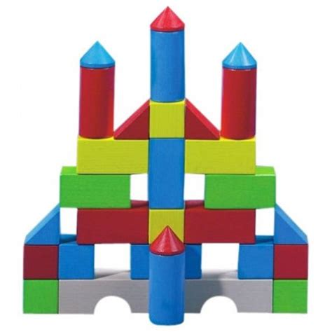 Home Decor Accessories Uk haba colourful wooden play building blocks 1076