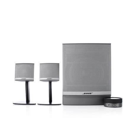 Speaker Bose Companion 3 bose companion 3 multimedia speaker system qvc uk