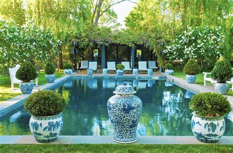 carolyne roehm carolyne roehm s sublime garden in is one of four