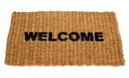 Keset Kaki Doormat Shabby Welcome Home gewoon uitnodigen aan je tafel creatov nl