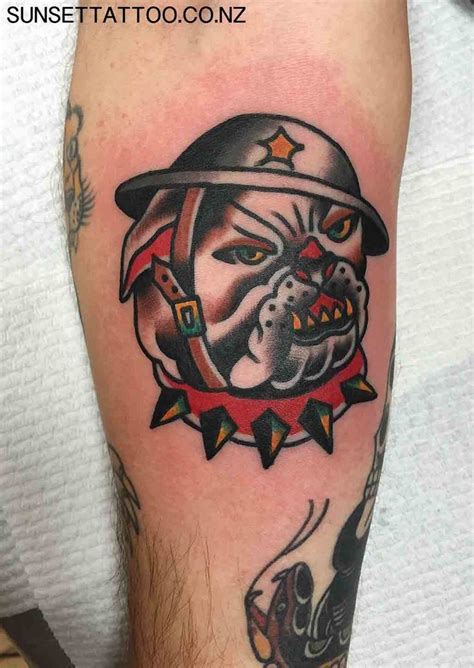 tattoo school new zealand 14 best tattoo traditional dogs images on pinterest