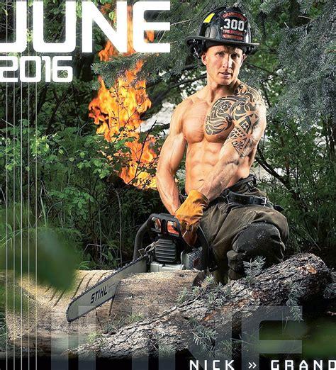 Colorado Firefighter Calendar Nick Mentzer Selected For Colorado Firefighters Calendar