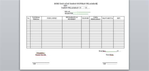 format buku masalah siswa contoh format buku dan atau bahan rujukan pelajaran