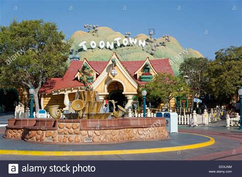 toontown house toontown mickey s house disneyland fantasyland magic kingdom stock photo royalty