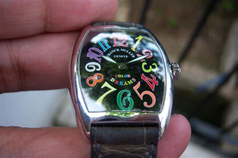 Jam Tangan Franck Muller Asli jam tangan for sale franck muller color dreams 18k wg