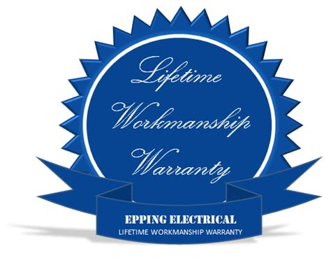 Trusted Spotify Lifetime 1 Year Guarantee 1 a trusted local electrician in the northern suburbs with lifetime workmanship warranty