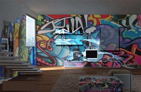 graffiti room reiko design graffiti hotel room2