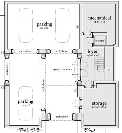 narrow sloping lot house plans single level living 17 best images about house plans on pinterest craftsman
