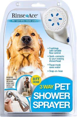 Rinse Ace Pet Shower by Rinse Ace 3 Way Shower Sprayer Grooming Tool 8 Ft
