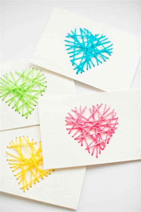 String Greeting Cards - diy valentines day cards for your husband your and