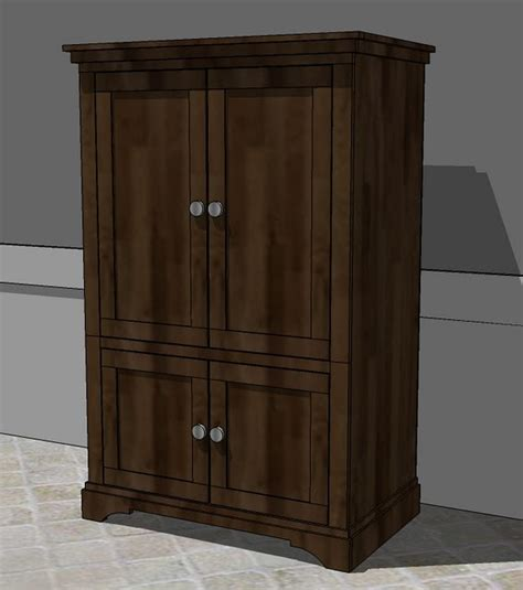 wood shop detail free woodworking plans for armoire