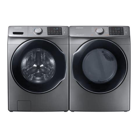 samsung wf45m5500ap 4 5 cu ft high efficiency stackable front load washer platinum energy